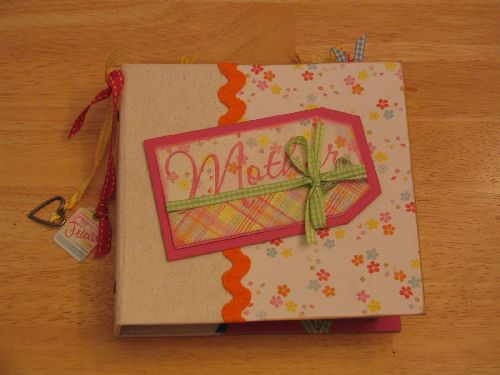 Mother Scrapbook Ideas