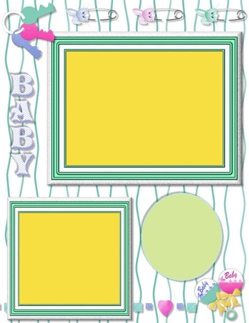 Scrapbook layout ideas free joy studio design gallery - Scrapbook background free printables ...