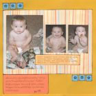 Baby Scrapbooking Layout Gallery